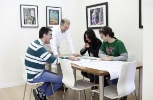 Ingenieria de obras y reformas donosti oficina donostia reunión 2