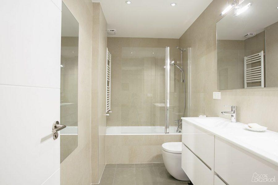 Reforma de 2 baños en vivienda de Donostia san Sebastián