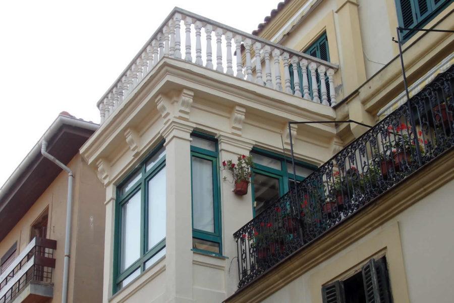 Reforma de fachada en Donostia – San Sebastián, Centro