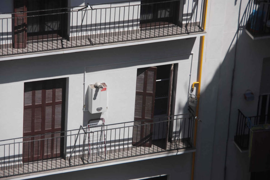 Reforma de fachada en San Sebastián, Centro, Moraza