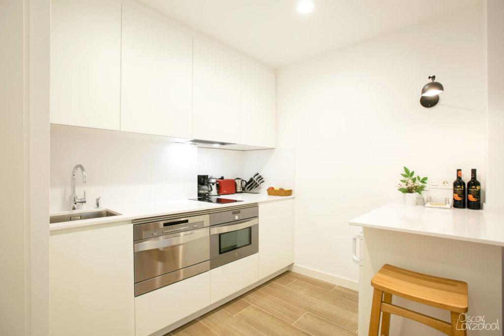 Reforma Cocina Electrodomésticos Apartamento San Bartolome Donostia San Sebastian 07