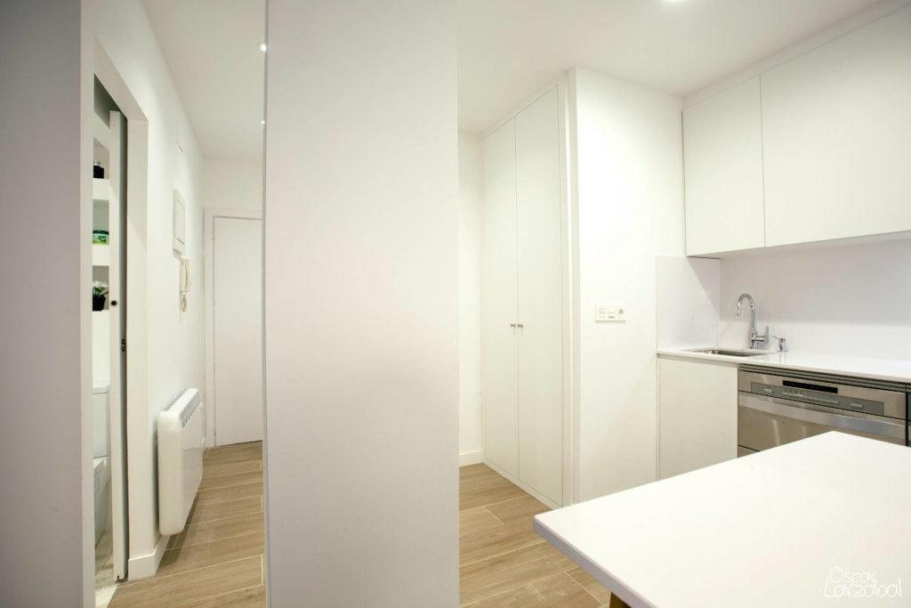Reforma Cocina Electrodomésticos Apartamento San Bartolome Donostia San Sebastian 08