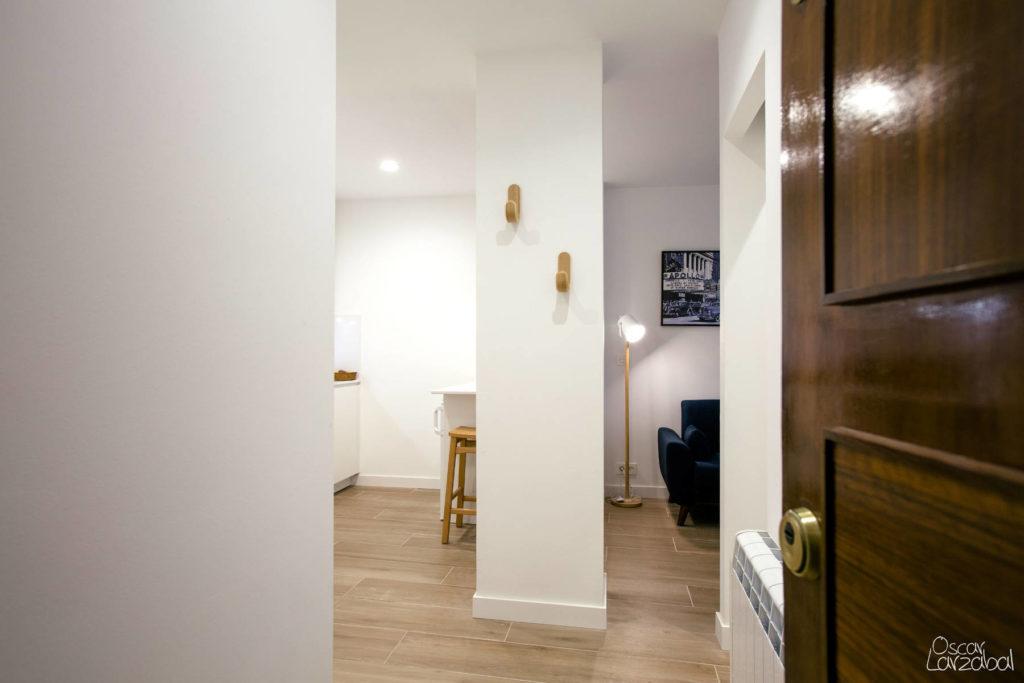 Reforma Entrada Suelos madera Apartamento San Bartolome Donostia San Sebastian 11