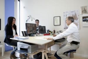 Ingenieria de obras y reformas donosti oficina donostia reunion
